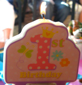 openphotonet_1st birthday candle